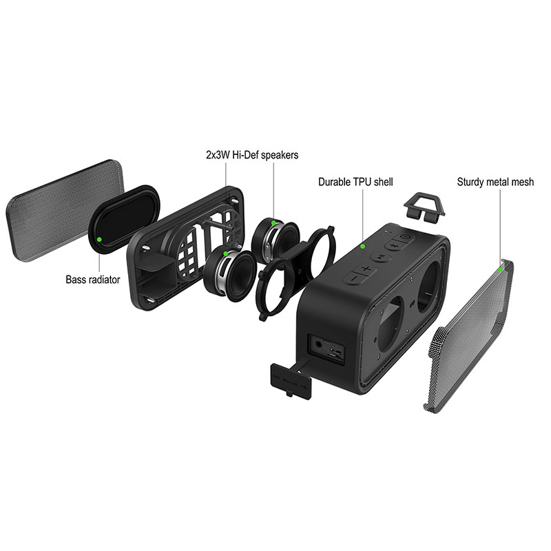 Speaker Climbing See Bluetooth