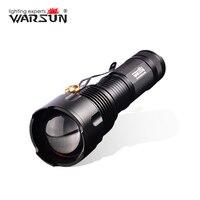 WARSUN XML T6 Linternas 3 Modos Lanterna Tática Led Zaklamp Gladiador Militar-Lanterna Tocha Acampamento Ao Ar Livre Lanterna
