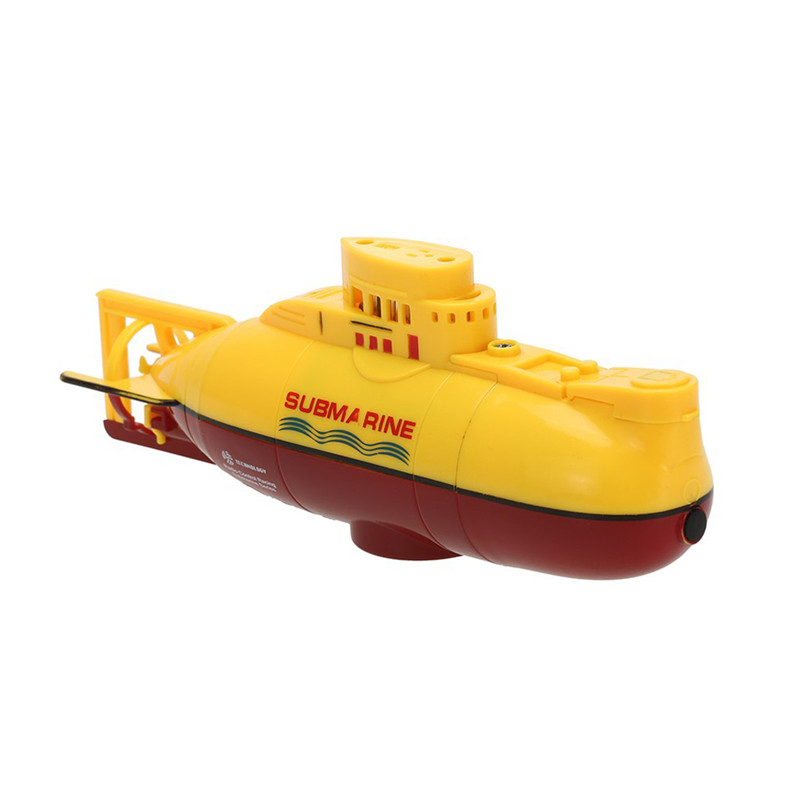 Yellow Sea Wing Star 27MHz Radio Controlled RC Submarine Tourism Boat Electric Powered Racing Boat Waterproof Submarine Toy FCI#