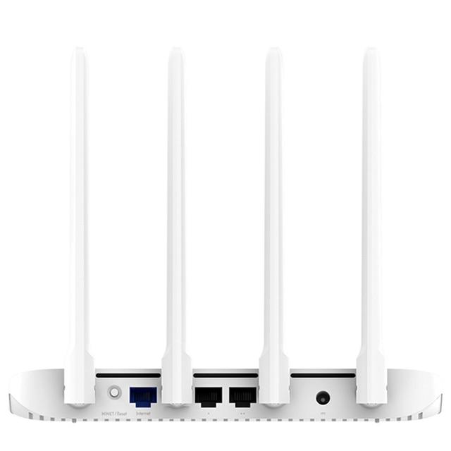 Version globale Xiao mi mi 4A routeur Gigabit édition 2.4GHz 5GHz WiFi 16 mo ROM 128 mo DDR3 4 antenne télécommande APP IPv6 2
