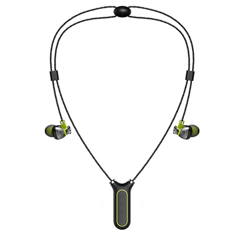 Mifo i2 multifonctionnel étanche tour de cou Bluetooth écouteur Binaural stéréo Sport musique bouchons d'oreilles vérifier les données du Sport de l'application
