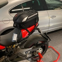 Multi functional Durable Waterproof Motorcycle Tail Bag Rear Motorcycle Seat Bag High Capacity Rider Backpack 11 MC 0102 Latest