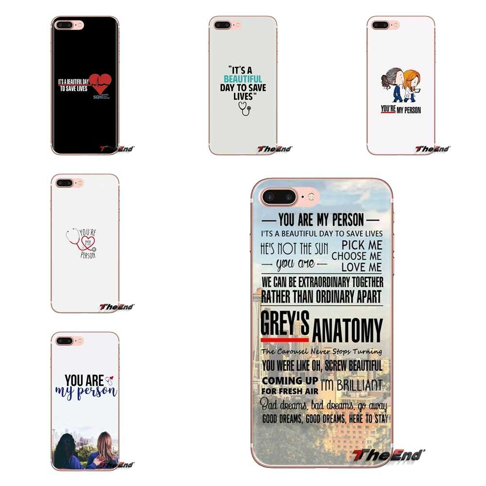 GREYS Anatomy вы мой человек для huawei G7 G8 P7 P8 P9 P10 P20 P30 Lite Mini Pro P Smart Plus 2017 2018 2019 мягкие чехлы