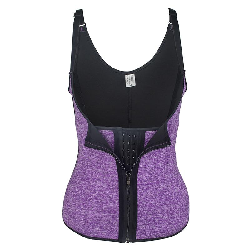 68290e1546 Women s Body Shaper Waist Cincher Underbust Corset Waist Trainer Shapewear  Double Control Tummy Slimming Vest Postnatal Tank Top-in Tops from  Underwear ...
