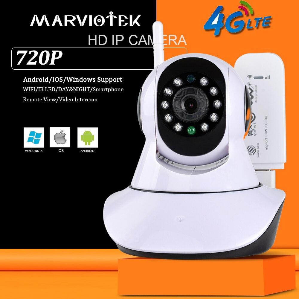 Здесь можно купить  720P Wireless IP Camera wi fi alarm wifi camera surveillance 360 degree Pan Tilt 4G cctv camera 3G with sim card slot ipcam   Безопасность и защита