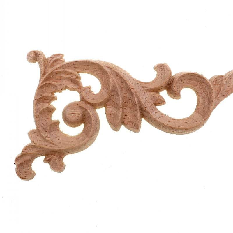 Us 1 28 16 Off Runbazef Real Wood Corner Flower Carved Pieces Of Furniture Decoration Accessories Home Decor Miniature Miniaturas Ornaments In
