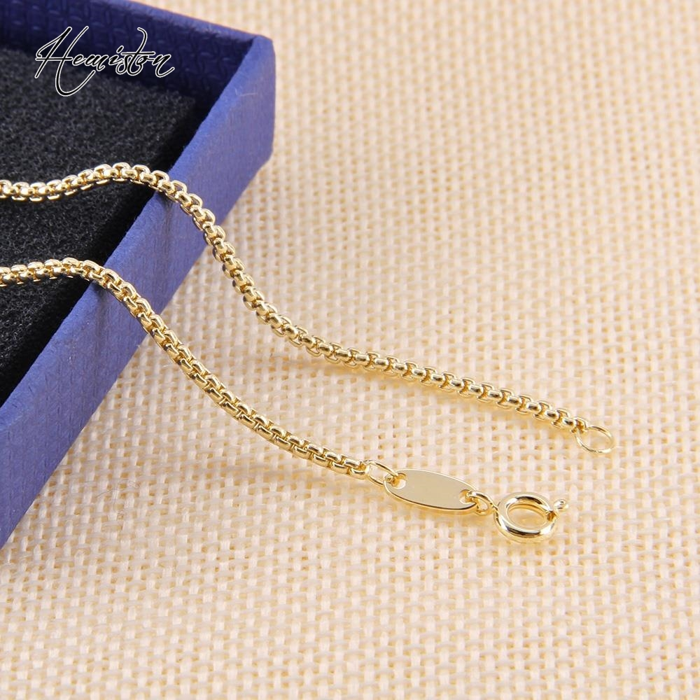 <font><b>Striking</b></font> Chain Necklace with Lobster Clasp Fit TS-Pendant, Width:0.2cm, Fine Jewelry Gift for Women and Men