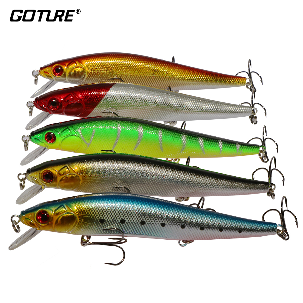Goture 14cm 20g Wobblers Fishing Lure 3D Eyes Esche artificiali Accessori per la pesca alla carpa swimbait Per Bass Fish