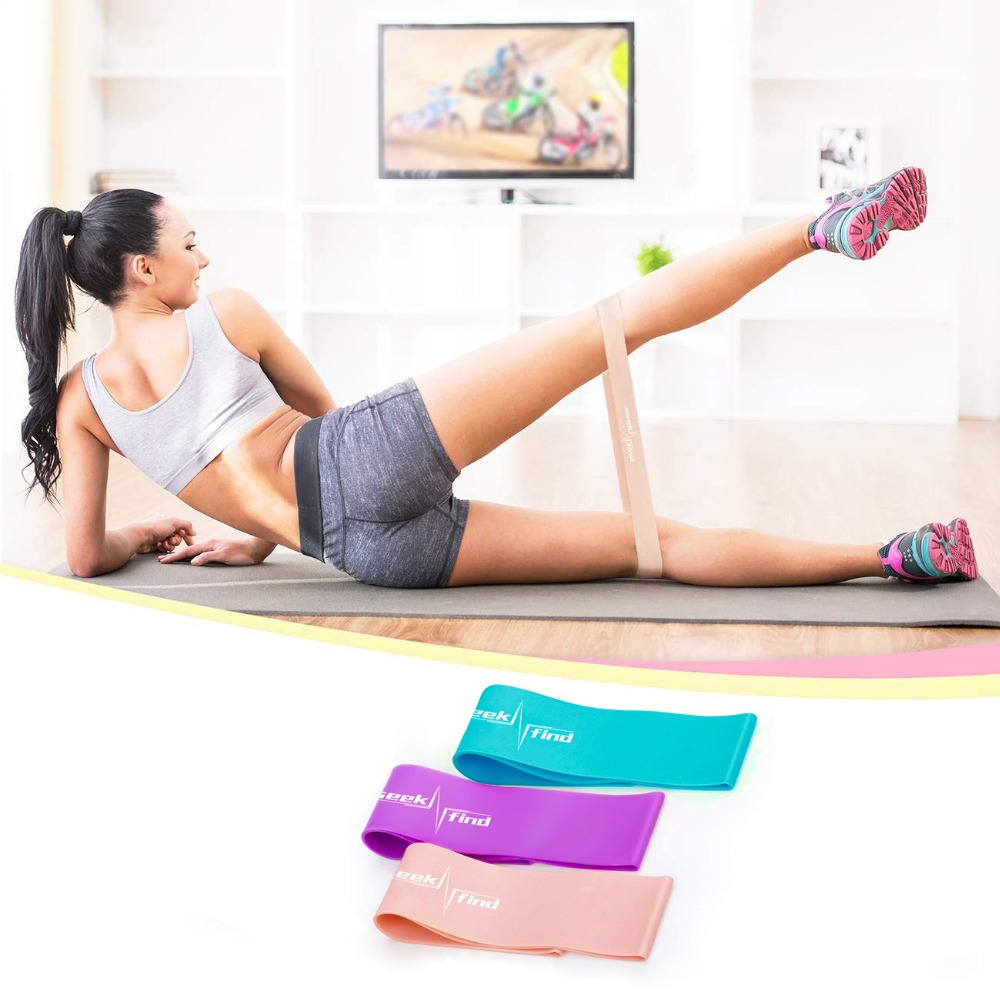 TPE Resistance Loop Bands Fitness Expander Gum Elastic Bands For Fitness Rubber Bands Equipment Yoga Exercise Workout Training