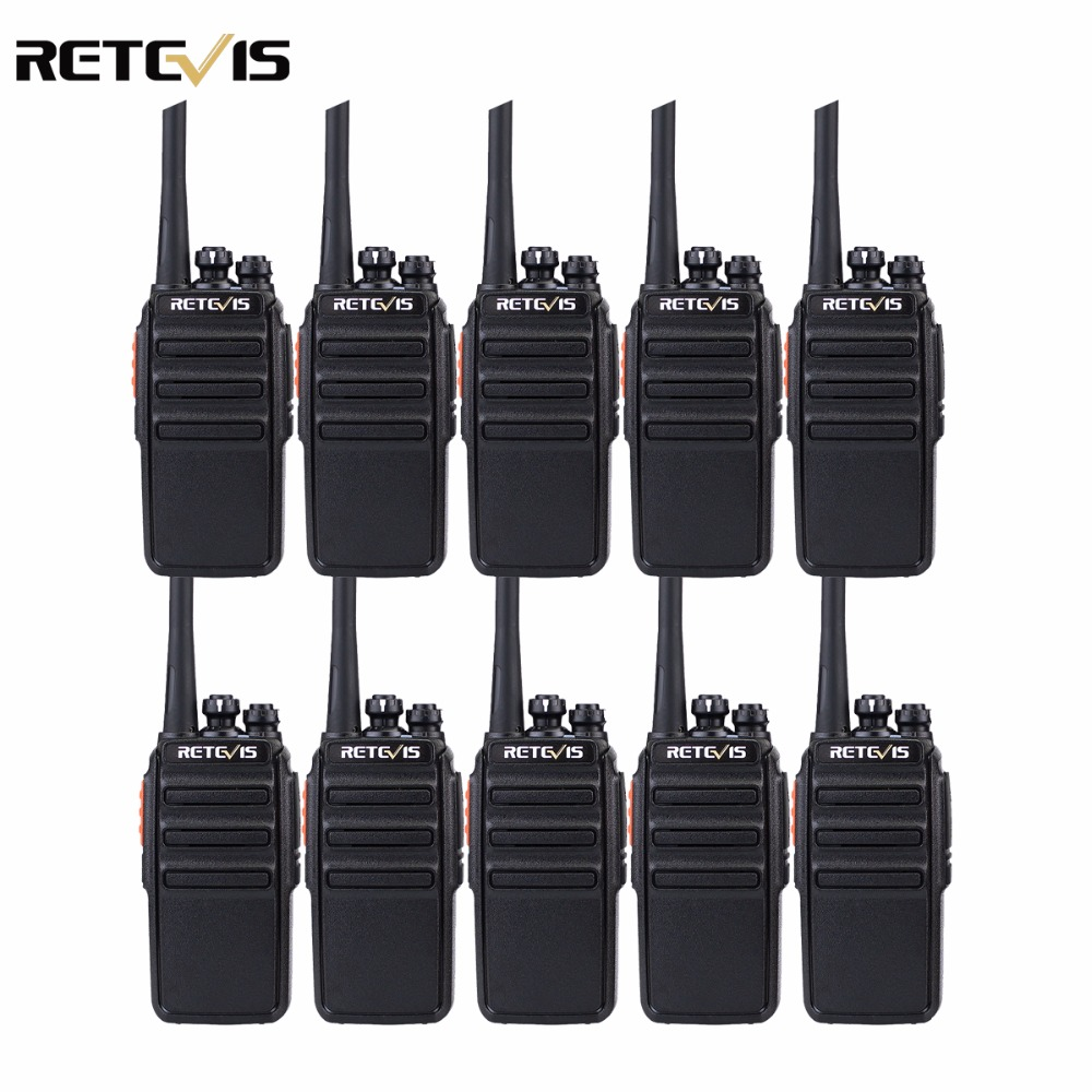 10PCS Retevis RT24 Radio PMR446 Walkie Talkie 0.5W 16CH License-Free Scrambler VOX Scan Ham Radio Hf Transceiver A9123