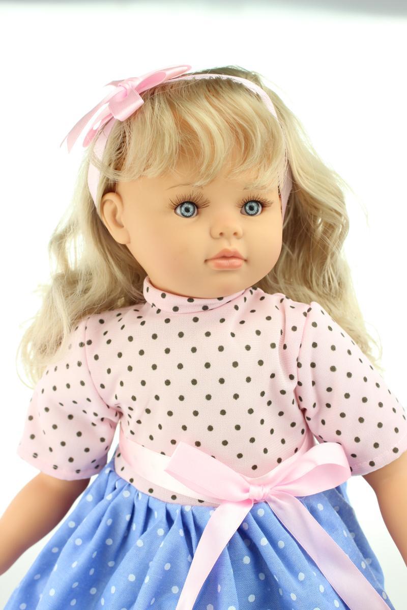 60cm Silicone Babies Doll 24 Inch Lifelike Soft Reborn
