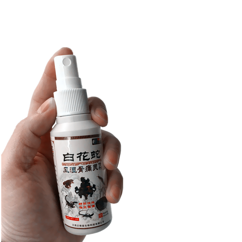 Knee Pain Frozen Shoulder Musk Radical cure Essential Oil Joint Pain Acupuncture Lumbar muscle degeneration Medical Spray in Essential Oil from Beauty Health