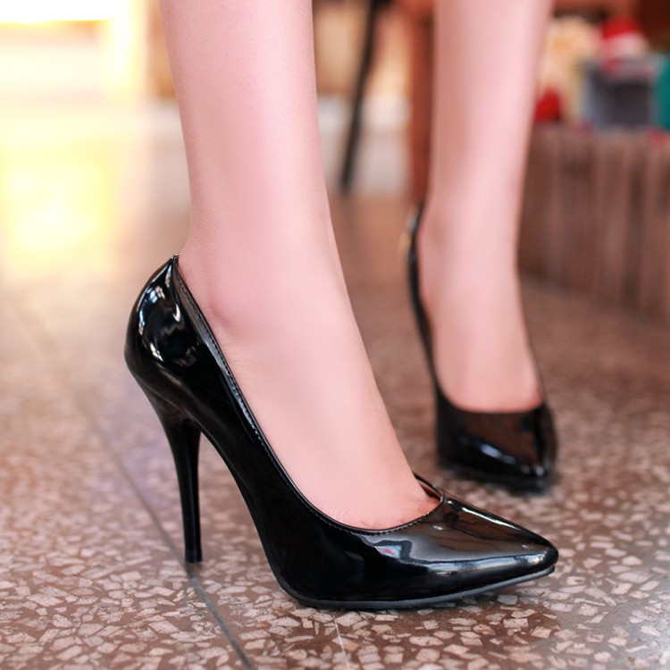 Big <font><b>Size</b></font> 11 12 13 14 <font><b>15</b></font> 16 17 ladies high <font><b>heels</b></font> women shoes woman pumps High-heeled shoes with pointed, shallow and thin <font><b>heels</b></font> image