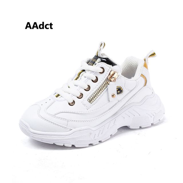 AAdct 2019 spring boys shoes Brand running sports casual children shoes new High-quality little kids shoes for girls