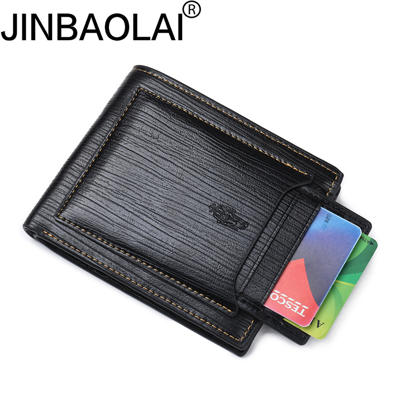 New Small Luxury Brand Male Men Wallet Purse Clutch Handy Portfolio Portomonee Walet Bag Cuzdan Money Fashion Vallet Card Holder