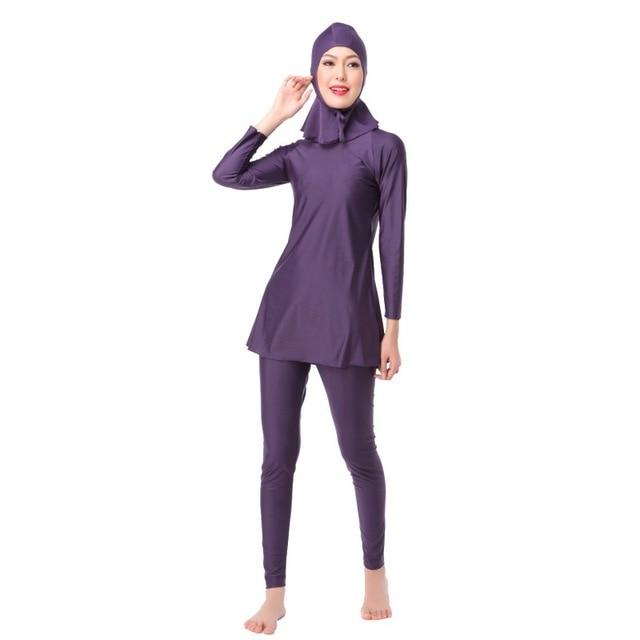 a3d740efd92 Muslim Swimsuits Muslim Bathing Suits Ladies' Muslim Full Coverage Modest  Swimwear Muslim Swimwear Islamic Swimsuit