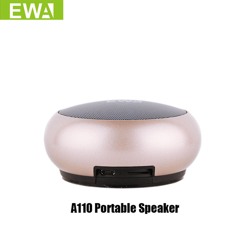 EWA A110 Bluetooth Speakers Wiht Hands Free Panggilan Stereo Speaker Portable Heavy Bass Wireless Bluetooth Speaker Untuk telefon