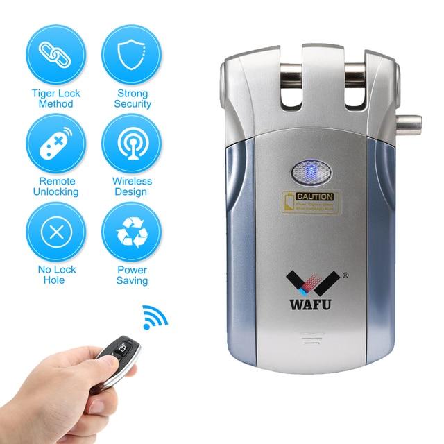 Wafu Wf 018 Wireless Remote Control Lock Security Invisible Keyless