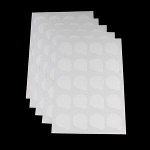 Image 1 - 100 pces suporte de cola de cílios descartáveis pálete extensão de cílios cola almofadas adesivo 2.5cm suporte em cílios jade pedra maquiagem