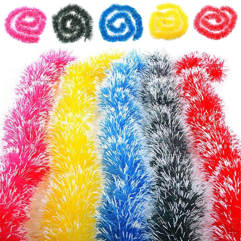 Christmas Tree Colour Schemes 2014: Christmas Pendant Charms 2m Tinsel Ornaments Hanging