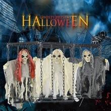 Призрака и качающая клетка для Хэллоуина бара висячие украшения