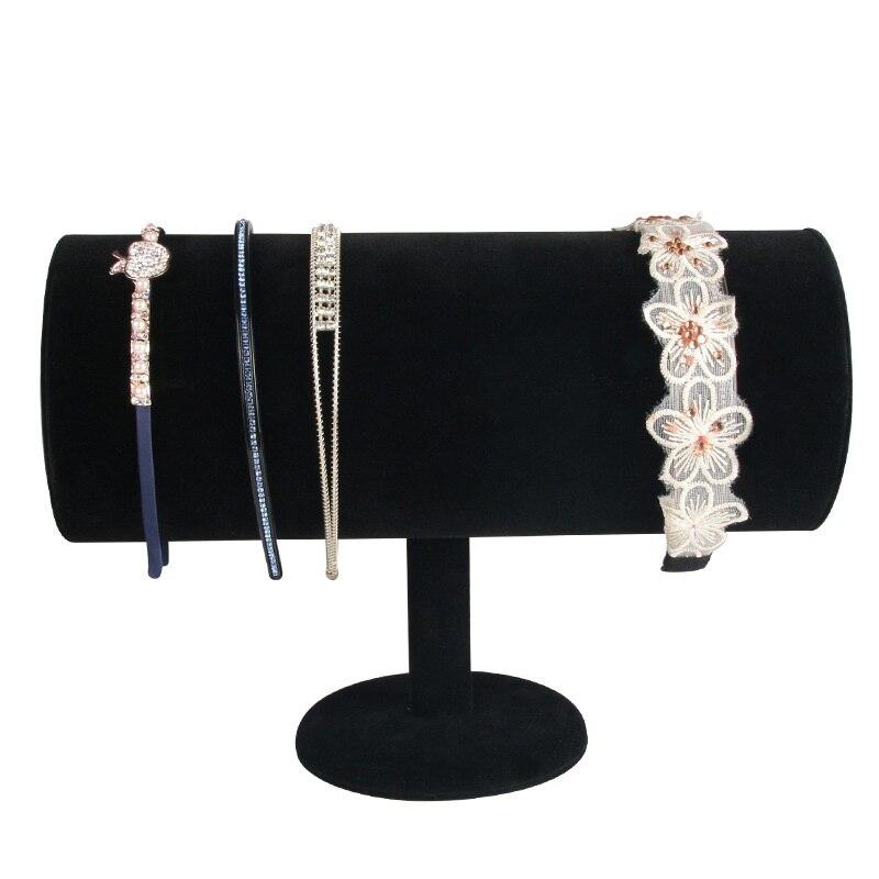 Velvet Jewelry Hair Hoop Head Band Display Stand Organizer Showcase Holder jewelry stand jewelry organizer jewelry holder