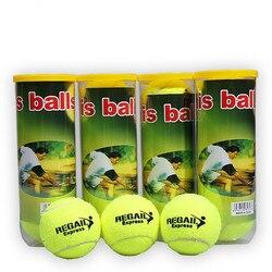 3 pçs/tubo original bolas de tênis cabeça oficial treinador tênis treinamento bola raquete tenis bolas tênis treinador pelotas tenis