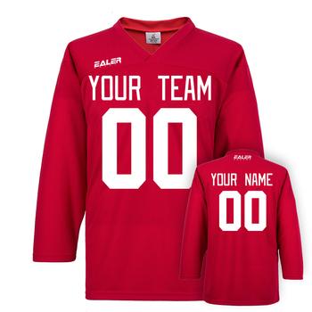 Fajne hokej na lodzie darmowa wysyłka hokej na lodzie koszulki dla strój treningowy z twoje imię i nazwisko oraz numer i nazwa zespołu multicolor tanie i dobre opinie Poliester Pełna JERSEY Oddychające Szybkie suche V-neck Pasuje większy niż zwykle proszę sprawdzić ten sklep jest dobór informacji