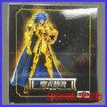 FÃS MODELO Saga Gemeos IN-STOCK S-Templo MC metalclub Ouro Saint Seiya Cloth Myth Ex2.0 armadura de metal Figura de ação