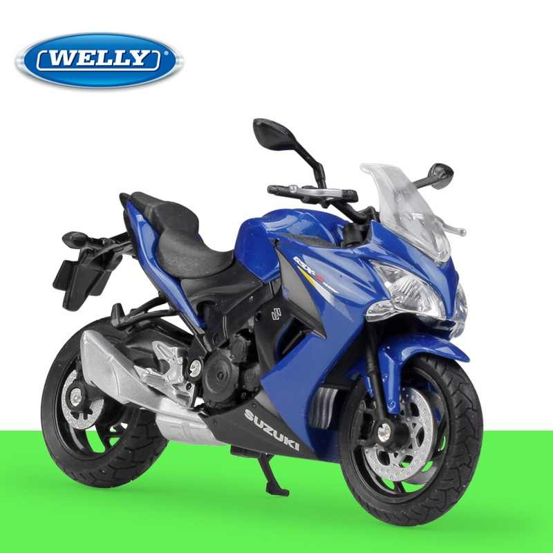 1:18 Welly 2017 Suzuki GSX-S1000F