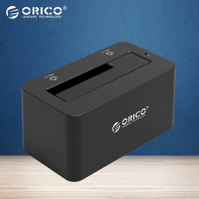 ORICO 6619SUS3 USB 3.0 & eSATA to SATA External Hard Drive Docking Station for 2.5 or 3.5in HDD, SSD [6TB Support]