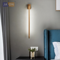 T5 LED Postmodern Iron Black Golden Sword LED Lamp LED Light Wall lamp Wall Light Wall Sconce For Store Bedroom