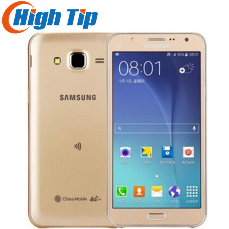 Téléphone portable d'origine Samsung Galaxy J7 (2016) J710 double SIM LTE octa-core 5.5