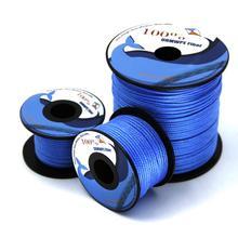100lb-1000lb синяя СВМПЭ линия кайт веревка плетеная линия для рыбалки воздушный змей Летающий Открытый Кемпинг палаточный шнур
