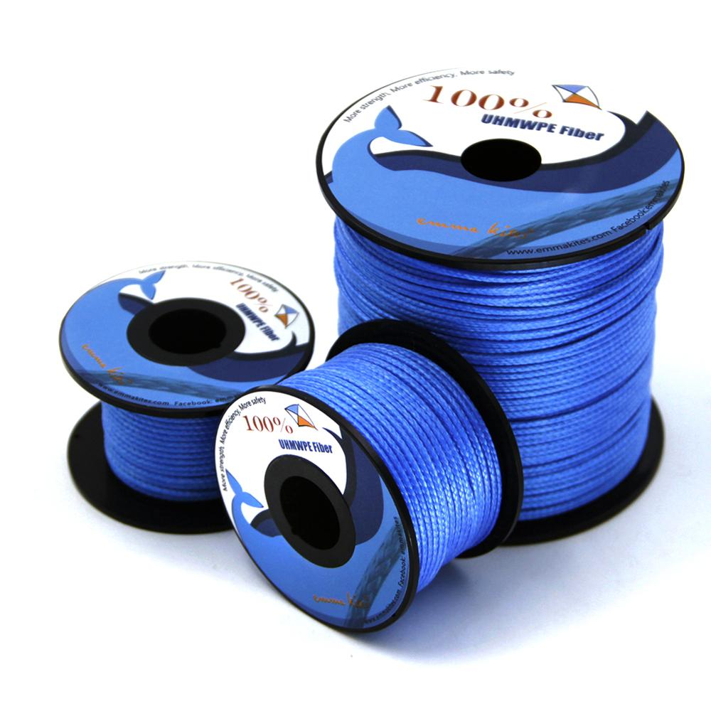 100lb - 1000lb Blue UHMWPE Line Kite String Braided Line For Fishing Kite Flying Outdoor Camping Tent Cord