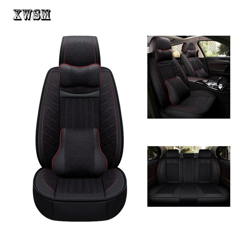 XWSN car seat cover For nissan qashqai j10 almera n16 note x trail t31 patrol y61 juke leaf teana cover for vehicle seats