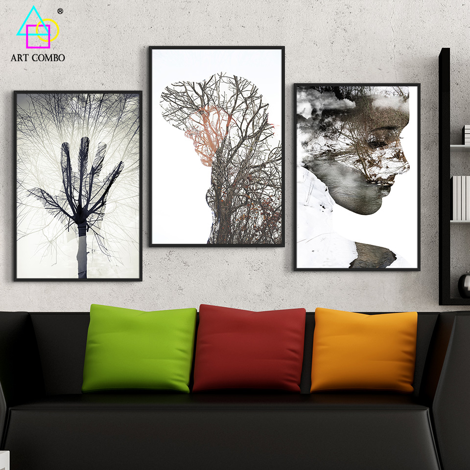 Contemporary art painting on canvas creative use the for Creative painting on canvas