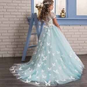 Nastolatek sukienka nastolatek sukienka nastolatek dziewczyny odzież Kurti kraju dla dzieci Elena Avalor Party Little dziewczyna Prom flower Girls sukienki