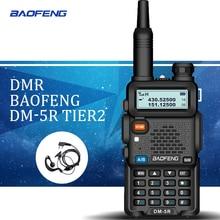 Baofeng DM-5R Walkie Taklie Dual Band DMR Digital DSP Transceiver 5W Two-Way Radio