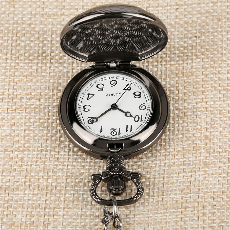Middle Size Movie Extension Theme 9 3/4 Station Quartz Pocket Watch Exquisite Pendant Necklace Clock Retro Chain Dropshipping