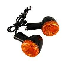 Arka dönüş sinyalleri göstergeler için LED ışıkları Harley Sportster 883 demir XL1200 1992 UP motosiklet dönüş göstergesi 15 16 17