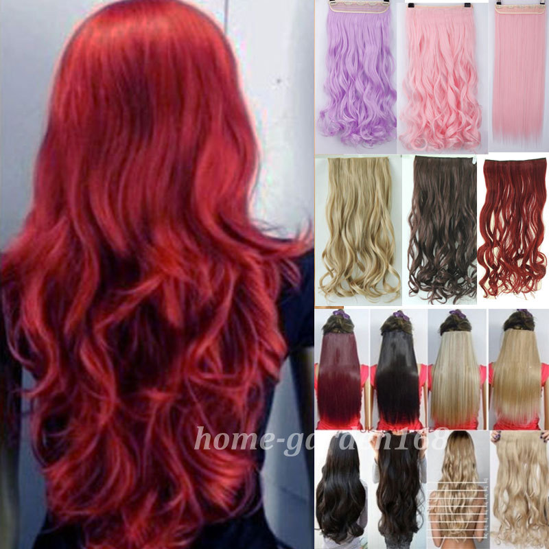 Real hair extensions clip in full head images hair extension local warehouse long clip in hair extensions half full head pmusecretfo Image collections
