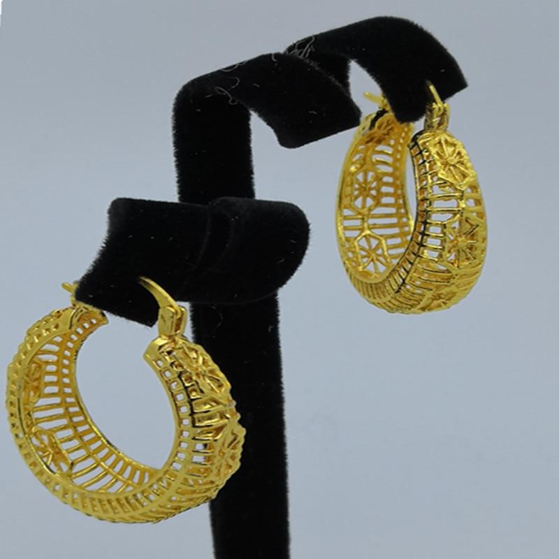 F & Y Big Brincos Geométrica Declaração da Cor do Ouro Do Vintage Brincos de Jóias de Alta Qualidade Para O Casamento Partido Jewellry