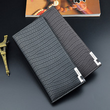 цена на Brand Famous Men Leather Long Wallet Clutch Male Money Purse ID Card Holder Wallets Carteira Masculina