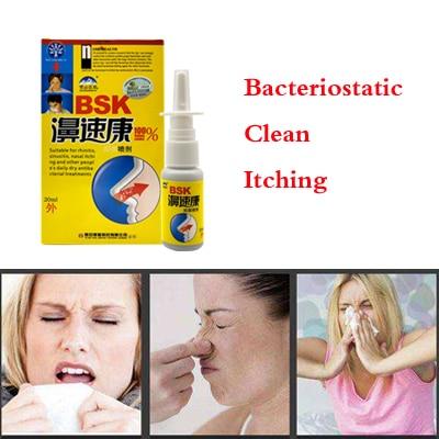 Rhinitis Spray Sinusitis Nasal Congestion Itchy Allergic Nose Medicine