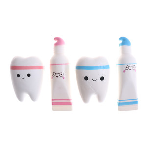 Cute Cartoon Tooth Toothpaste