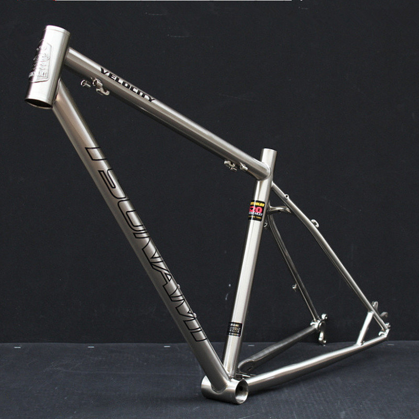 Tsunami Bicycle Steel Frame Reynolds 520 Cr Mo Steel
