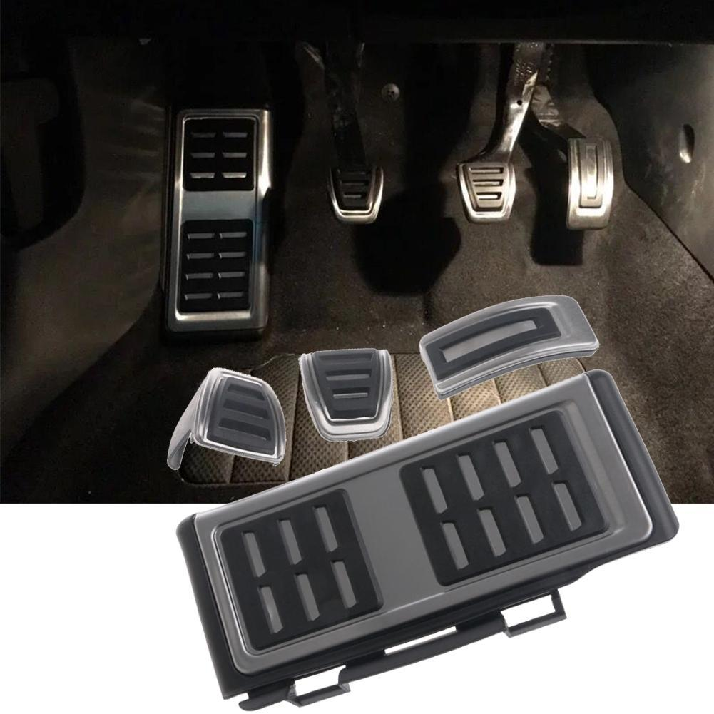 Car Styling Stainless Steel Pedal Cover For WV Golf 7 GTi MK7 Skoda Octavia A7 Brake Pedal Cover For Seat Leon,Auto Accessories