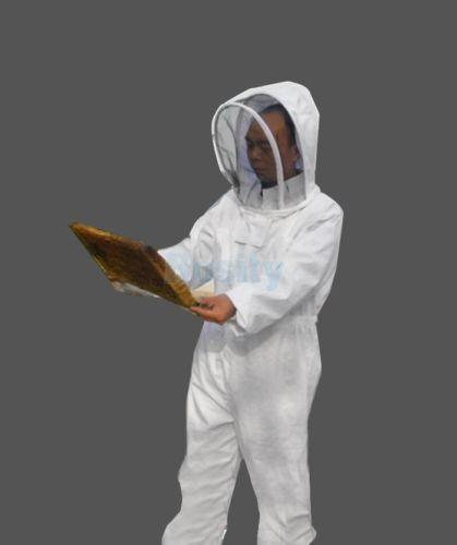 Professional Beekeeping Beekeeper Full Body Suit Smock Pest Control Veil XL комплектующие для кормушек beekeeping 4 equipment121mm 91 158