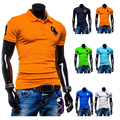 2017 Summer Mens Polo Shirt Fast Dry Slim Breathable Solid Polo Shirt for Men Male Short Sleeve Tops Brand Polos Camisa Polo